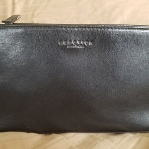 🌺NEW! KENNETH COLE REACTION BLACK CLUTCH PURSE